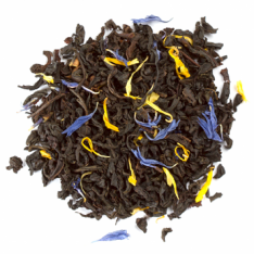 Earl Grey Tea With Cornflower Petals